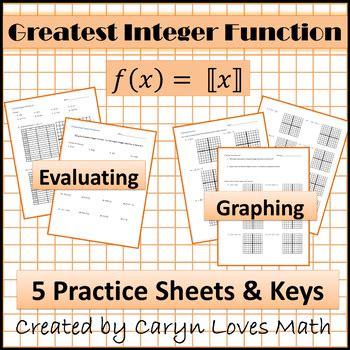 Intermediate Value Theorem Worksheet by Greatest Integer Function Worksheet Worksheets