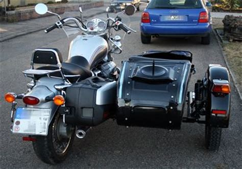 Motorrad Zum Gespann Umbauen by Low Cost Umbau Moto Guzzi California Mit Ural Seitenwagen
