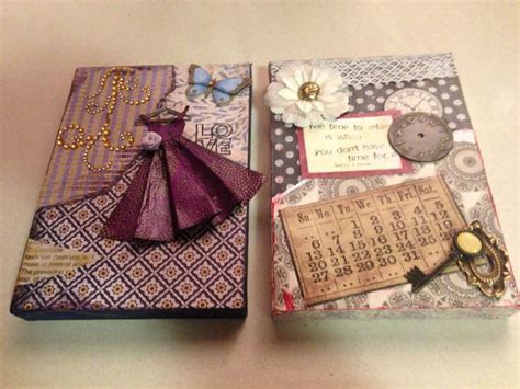 Decoupage Canvas - canvas decoupage craft project make me something sweet