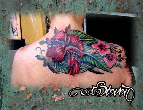 exotic flower tattoos flowers tattoos