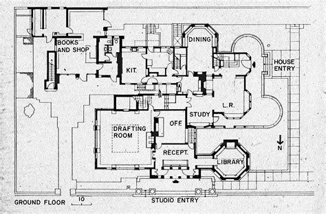 frank lloyd wright floor plan flw home floor plan 1 fllw home and studio pinterest