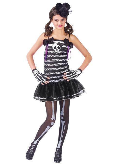 halloween costumes for teen girls teen girls skeleton costume