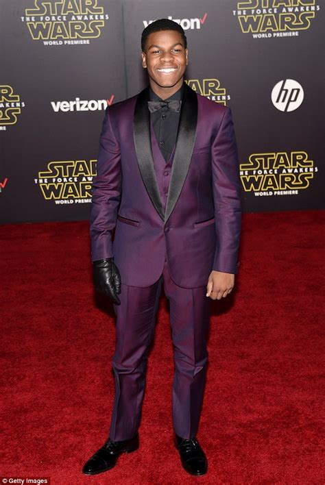 Shaves Now The Carpet Really Does Match The Drapes by Wars Boyega Pays Homage To Luke Skywalker At