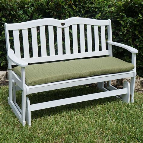 Outdoor Porch Glider porch furniture white sands glider is back