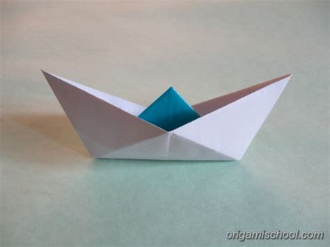 Origami Bot - origami boat v2 how to make origami boat v2