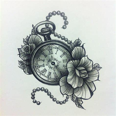 tattoo flash watch pocket watch tattoo tattoos pinterest pocket watch