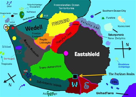 antarctica map with country names and capitals list of countries in the fan universe club penguin fanon