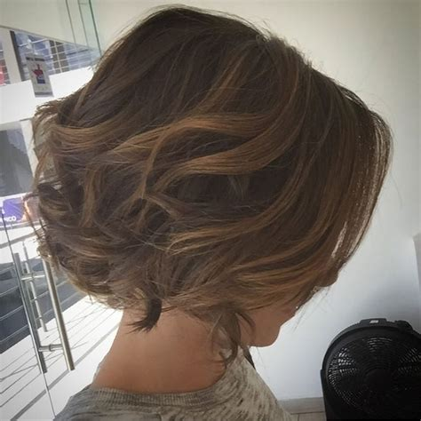 curling and layered 38 super cute ways to curl your bob popular haircuts for
