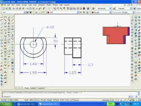 tutorial autocad 2d ke 3d tutorial 12 autocad 2d 3d online tutoring is available