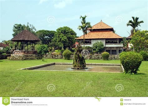 Dukuan House Bali Indonesia Asia asian house and garden bali indonesia royalty free stock