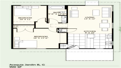 house plans with dimensions 900 square foot house plans simple two bedroom 900 sq ft