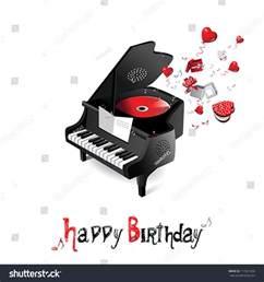 happy birthday piano stock vector 111921266 shutterstock