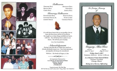 gregory allen rice obituary aa rayner and sons funeral home