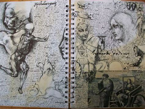 sketchbook small 345 best images about a level sketchbooks on