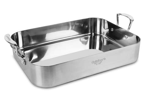 Cuisinart 16 Roasting Pan With Rack by Cuisinart Multiclad Pro Stainless Steel Roasting Pan With