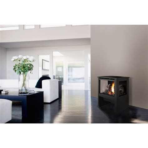 Gas Fireplace Freestanding Direct Vent by Lopi Cypress Direct Vent Freestanding Gas Fireplace