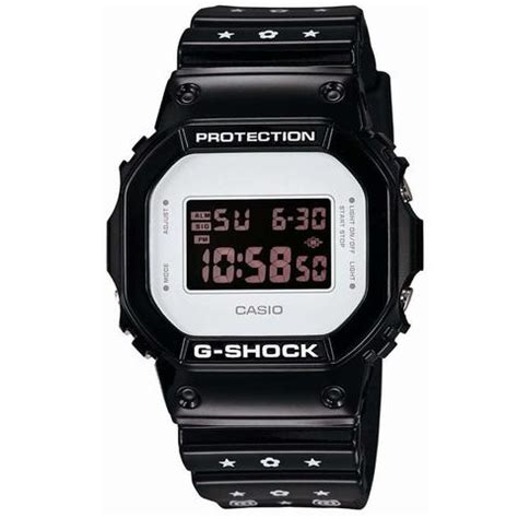 Jam Tangan Casio Gshock Dw5600blackred casio g shock x be rbrick bearbrick by medicom dw 5600mt 1j watchain