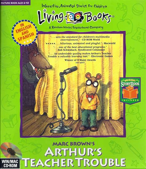 arthur s marc brown s arthur s trouble for android 2013