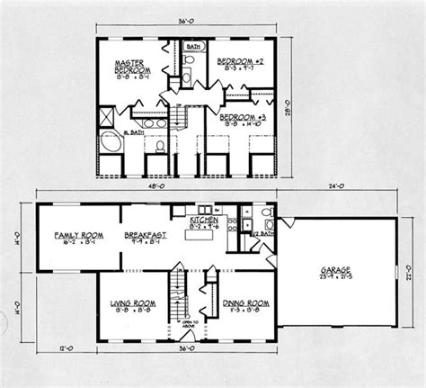 2200 square feet 4 bedroom house plans 2200 square feet