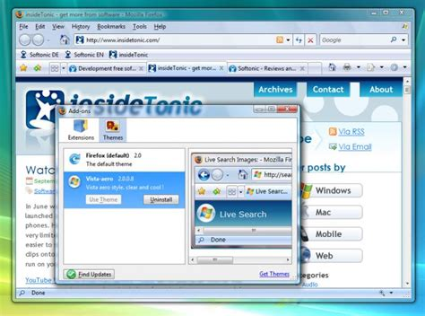 dta themes download center vista aero theme download