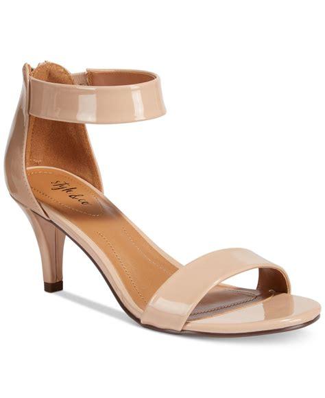 dress shoe macy s style co paycee two dress sandals in lyst