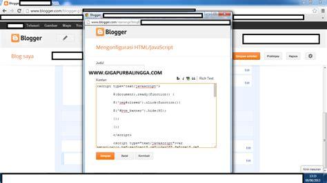 cara membuat iklan menggunakan html membuat iklan til di sing kanan dan kiri blog dengan