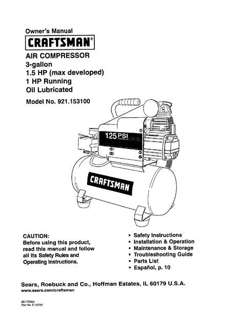 compress pdf manual craftsman air compressor 921 1531 user guide