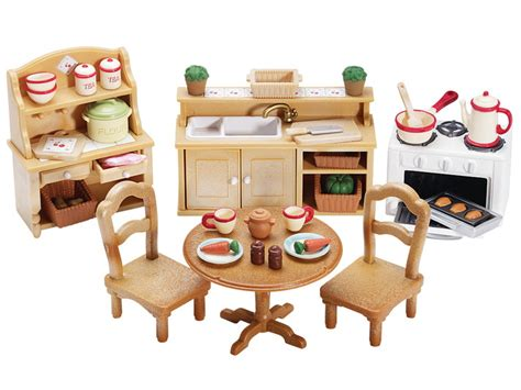 deluxe kitchen set calico critters
