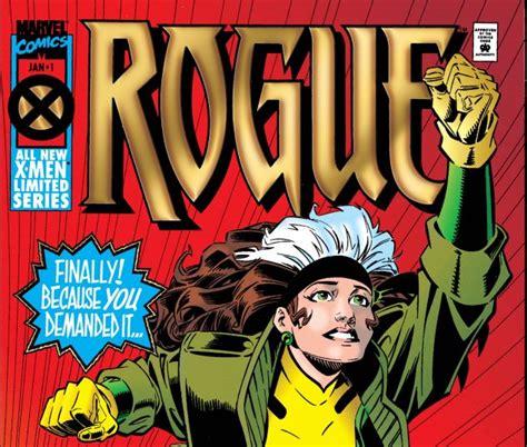 Rogue 1995 1st Series Autographed rogue 1995 1 comics marvel