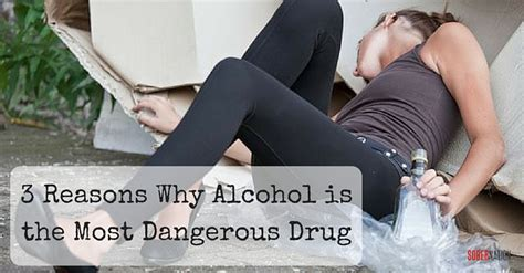 What Is The Most Dangerous To Detox From by 3 Reasons Why Is Actually The Most Dangerous
