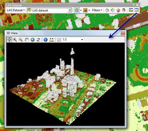 lidar tutorial arcgis 10 las dataset 3d view help arcgis for desktop