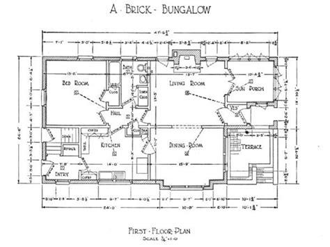 floor plans craftsman craftsman bungalow floor plans 1925 craftsman bungalow