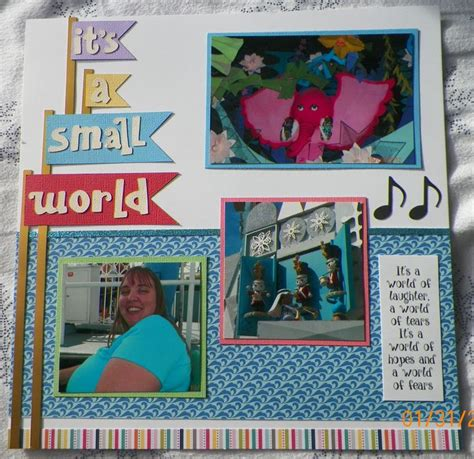 micro layout scrapbook 193 best images about scrapbook disney mk fantasyland on