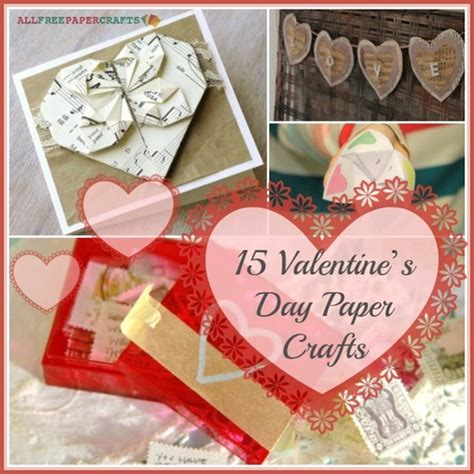 S Day Paper Crafts - 15 s day paper crafts heartfelt