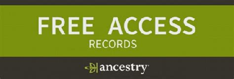 Free Records For Get Records At Ancestry For Free The Genealogy Guide
