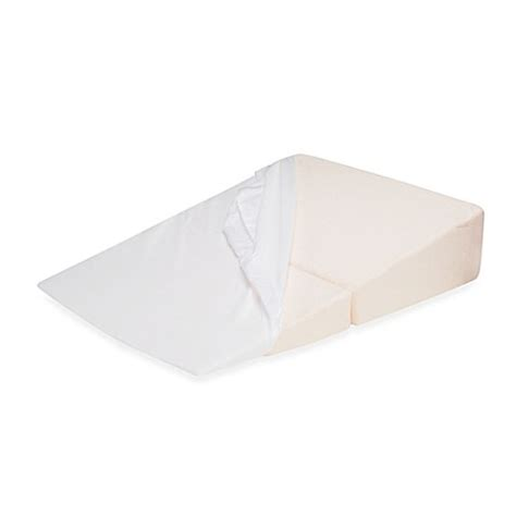 bed bath and beyond wedge pillow buy contour folding wedge fitted pillowcase from bed bath
