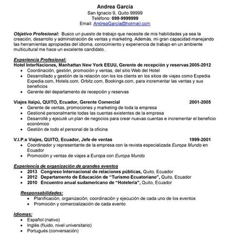 Modelo Curriculum Vitae Experiencia Word Modelo Curriculum Vitae Word Experiencia Resume Newhairstylesformen2014