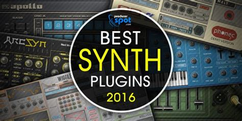 best vst synth best software synthesizers released in 2016 producerspot