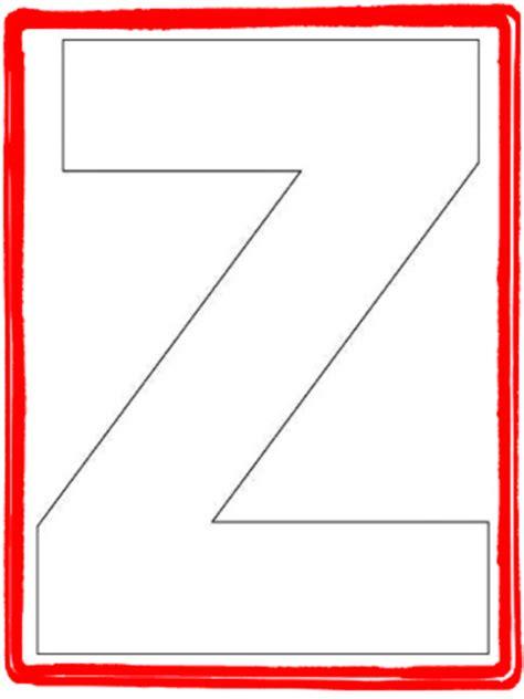 letter z template alphabet letter z template and letter z song kiboomu