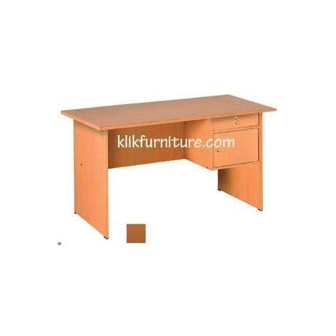 Meja Kerja Solid klikfurniture mts 2105 meja tulis 1 2 biro solid by olympic