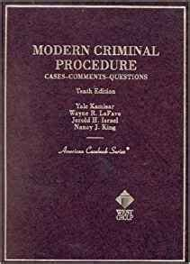 family cases comments and questions american casebook series books modern criminal procedure cases comments and questions