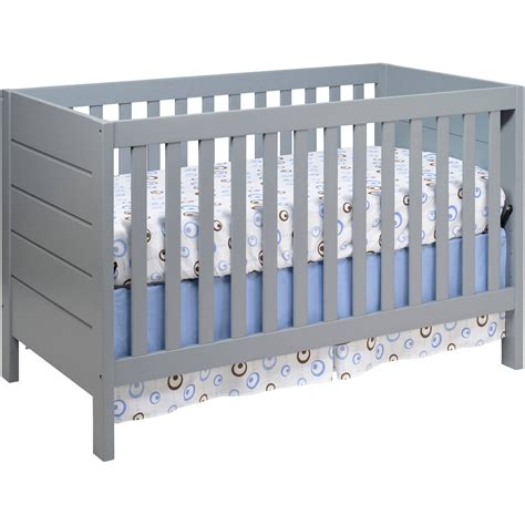 Baby Mod Modena 3 In 1 Convertible Crib Gray Walmartcom Baby Mod Mini Crib