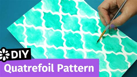diy cover pattern diy quatrefoil pattern easy notebook cover idea sea
