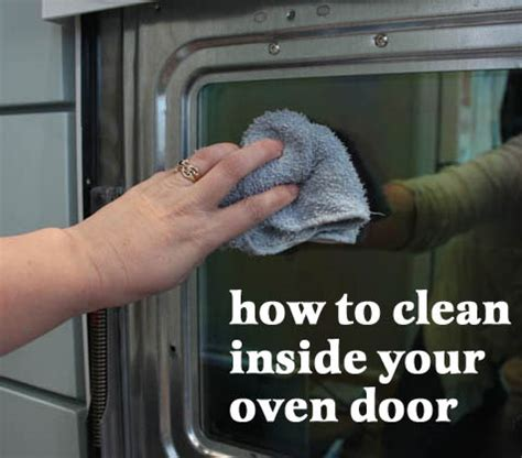How To Clean Glass Door On Oven by Oven Cleaning Cleaning Glass On Oven Door