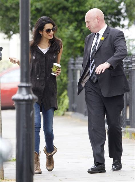 Katies Rapid Weight Loss Worries Friends by Exclusive Amal Alamuddin Makes A Coffee Run