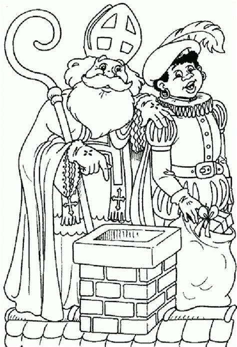 st nicholas coloring pages free large images