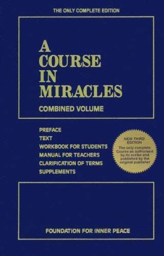 a course in miracles a course in miracles by foundation for inner peace paperback 1883360269 ebay