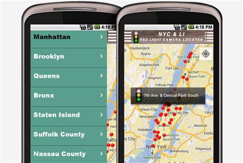 Nyc And Li Light Locator Android Mobile Application