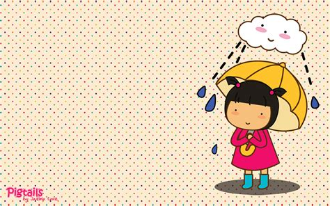 imagenes fondo de pantalla para niñas fondos de pantalla de nina tapandose de la lluvia