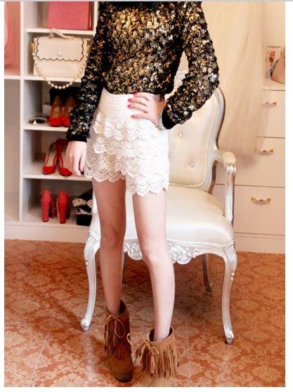 Skort Celana Pendek Korea White Lace 2 7 Y kawaii clothing pantalones encaje lace shorts wh320 store powered by storenvy
